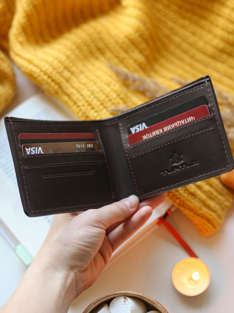 Мужской набор: кошелёк вестерн М и обложка для id-документов
